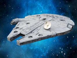Millennium Falcon 3d preview