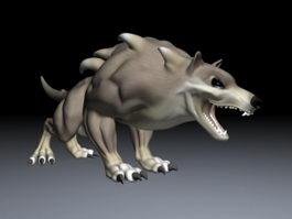 Chaos Wolf 3d model