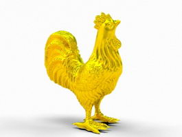 Golden Rooster 3d model