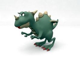 Cartoon Dinosaur 3d model