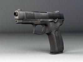 MP-443 Pistol 3d model