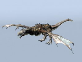 Earth Dragon 3d model