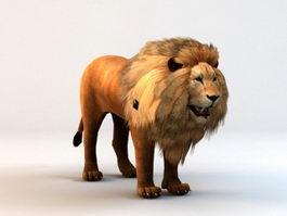 Lion Avatar 3d model