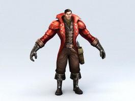 Vampire Hunter 3d model