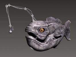 Angler Fish Rig 3d model