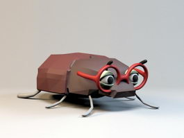 Cartoon Bug 3d model