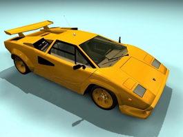 Lamborghini Diablo GT 3d model