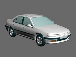 Peugeot Sedan 3d model