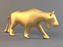 Gold Panther 3d model