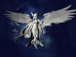 Angel Warrior 3d model