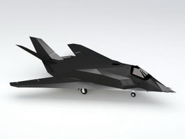 F-117 Stealth Fighter 3d model