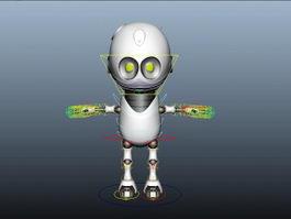 Bot Rig 3d model