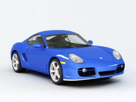 Porsche Cayman S Coupe 3d preview