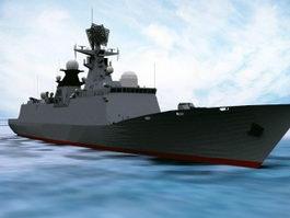Type 054 Frigate 3d model