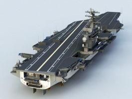 USS John C. Stennis CVN-74 3d model