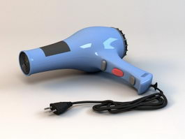 Blow Dryer Hair Dryer 3d model