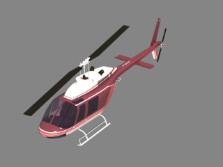Light Utility Helicopter 3d model