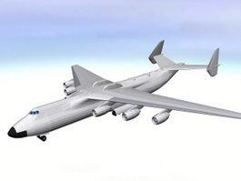 An-225 Mriya 3d model