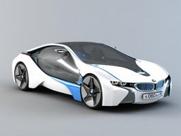 BMW Vision EfficientDynamics 3d model