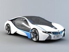 BMW Vision EfficientDynamics 3d model