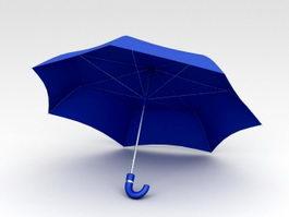 Folding Umbrella 3d model