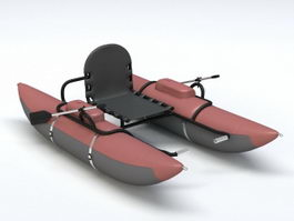 Inflatable Dinghy 3d model