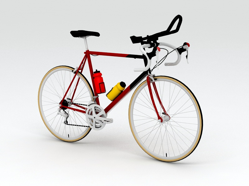 Vintage Racing Bicycle 3D Model