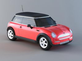 Mini Cooper Hatch 3d model
