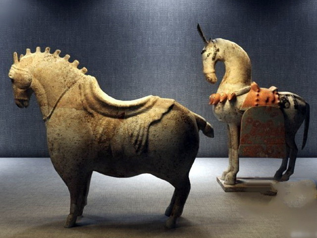 Ancient Chinese Horse Sculpture 3d Model 3ds Max Files
