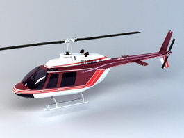 Executive Helicopter 3d model