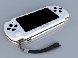 PSP-2000 3d model
