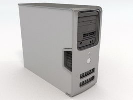 Dell Computer Tower 3d model