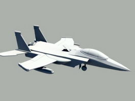 F-15 Fighter Jet 3d model