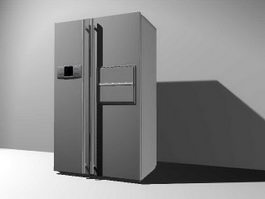 Refrigerator 3d Model Free Download Cadnav Com