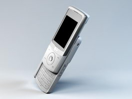 LG KE508 Phone 3d model