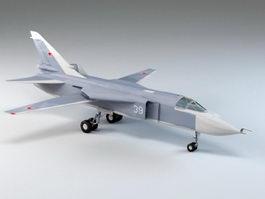 Su-24 Fencer 3d model