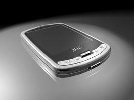 AOC X500 MP4 Player 3d model