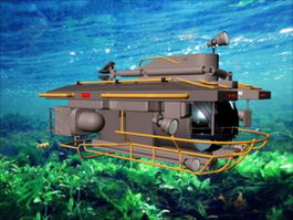 Personal Submersible 3d model