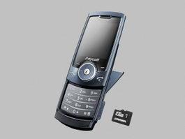 Samsung Anycall U608 3d model