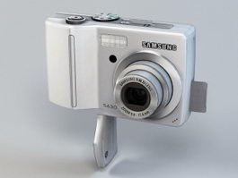 Samsung Digimax S630 Digital Camera 3d model