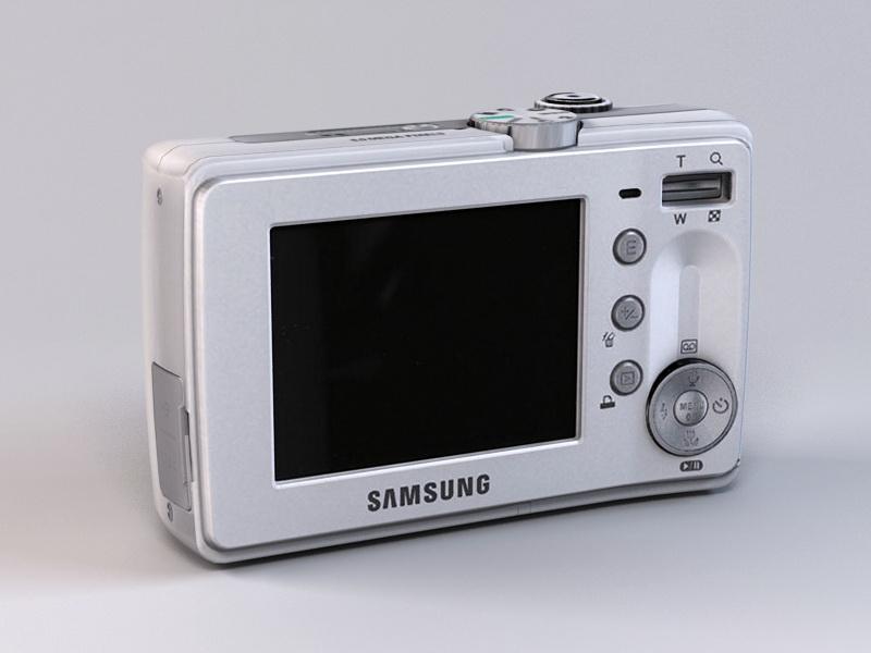 Samsung Digimax S630 Digital Camera 3d model - CadNav