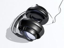 Big Studio Headphone 3d model