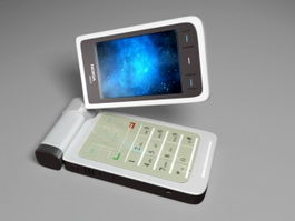 Nokia N93 3d model