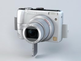 Panasonic Lumix DMC-LZ6 Digital Camera 3d model