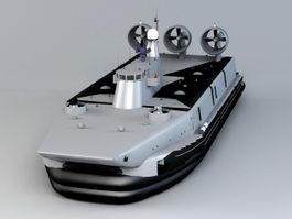 Zubr-class LCAC 3d model