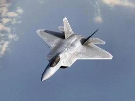 F22 Fighter Jet 3d model