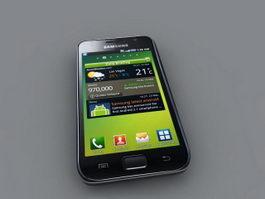 Samsung i9000 Galaxy S 3d model