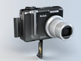 Kodak Z885 Camera 3d model