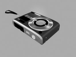Casio Exilim Camera 3d model