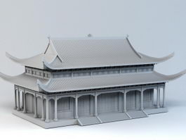 Imperial Chinese Palace 3d model